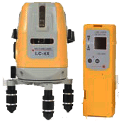 Linjelaser 4 linjer, Topcon LC4X